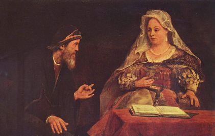Yuukk Belajar Kitab Ester. Ester dan Mordekhai, oleh Aert de Gelder