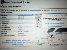 Tracking Asal Pengiriman Email