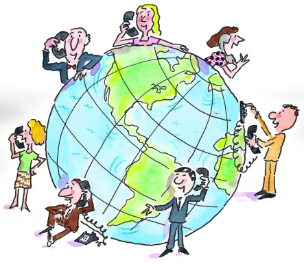Kode-kode Telepon Selular (Indonesia) Untuk Menelepon ke Luar Negeri