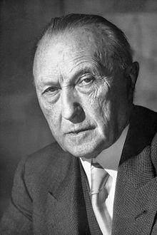 Konrad Adenauer kanselir pertama Republik Federal Jerman (Foto: de