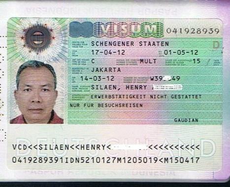 Visa Jerman