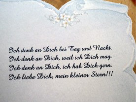 Wedding Text auf Deutsch