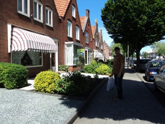 Model rumah yang unik di Volendam Belanda