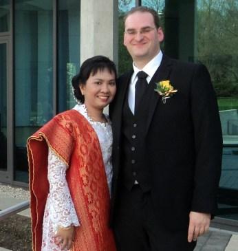 Foto-foto Pemberkatan Pernikahanku