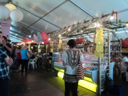 Tong Tong Fair berada di lahan seluas 22.000 m²