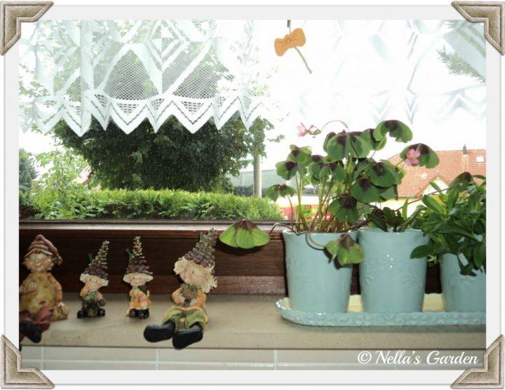Dekorasi di Jendela Dapur