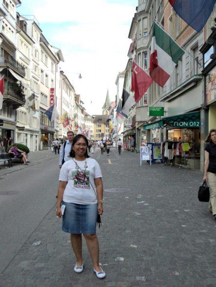 Pusat Belanja kota Zürich