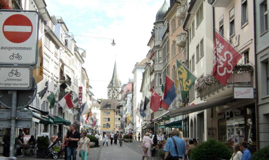 Liburan Swiss Part 5 – Pusat kota Zürich