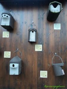 Macam-macam Model Rumah Burung Liar. @Kebun Binatang Wilhelma Stuttgart.
