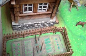 Miniatur Rumah Petani atau Peternak