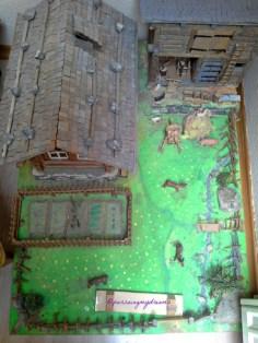Miniatur Rumah Petani