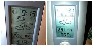 Foto Kiri Baru jam 9 pagi suhu diluar sudah hampir 32 derajat C, panass banget. Siangnya hampir 36 derajat C. Mohop nai Portibion