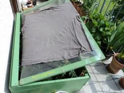 Jam 10 pagi hingga jam 2 siang Greenhousenya ditutupin dulu untuk menglindungi tanaman dari sengatan Matahari terik