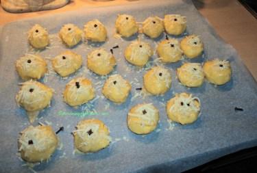 Praktek kedua Membuat Kue Nastar Keju