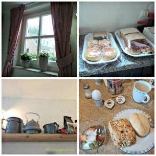 Jendela dan Interior Ruang Makan di Penginapan