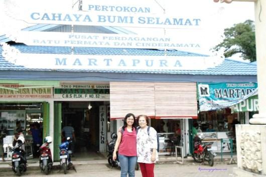 Martapura, Pusat Perdagangan dan Cinderamata di Banjarmasin