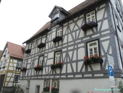 Model Rumah di Kota Tua Bad Wimpfen