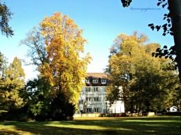 Wasserschloss Bad Rappenau di Musim Gugur