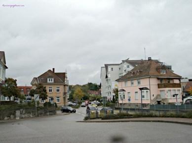 Masih di area staisun kereta di Sinsheim, mendung ciri khas November