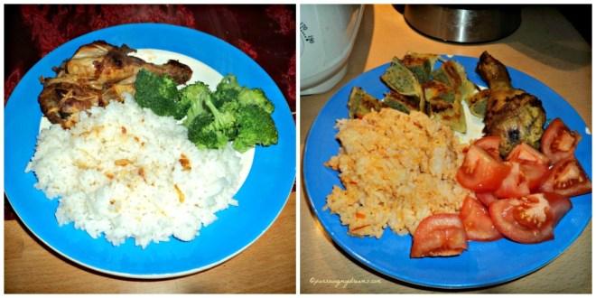 Sedap banget makan nasi entah dengan ayam goreng atau pangsit pokoknya harus ada sayurnya