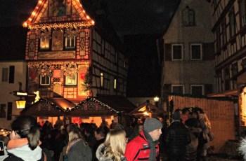 Weihnachtsmarkt  2013 in altstad Bad Wimpfen