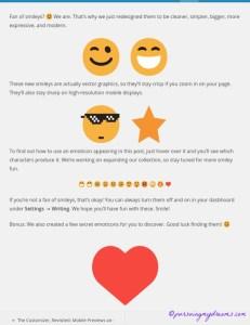 Emoticon Baru di WordPress. New WordPress Emoticons