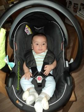 Benjamin sudah siap Mengantar opung ke Bandara