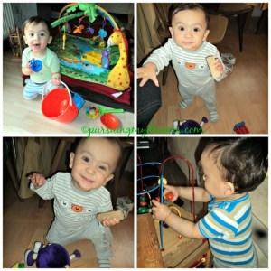 Gaya senyum manis Benjamin dan gaya serius saat bermain