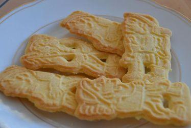 Biskuit Spekulas mentega. Butterspekulatius.Sumber foto wikipedia Jerman