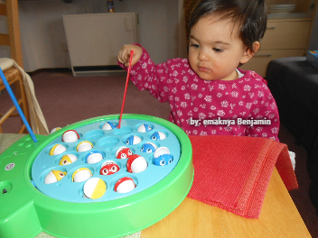 mainan pancing ikan magnet, permainan memancing, Fishing Games for Kids, magnetic fishing toy