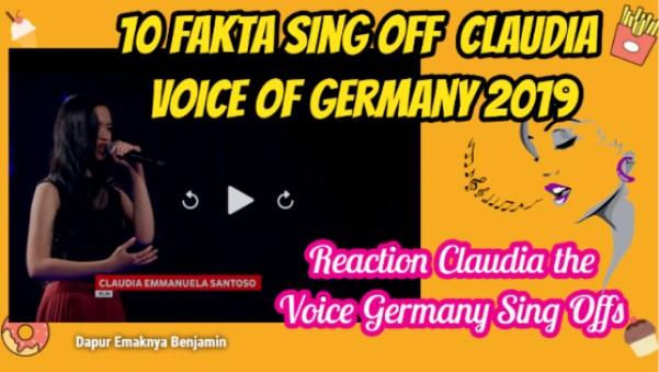 10 Fakta Claudia Emmanuela Santoso The Voice Germany 2019 Sing Offs