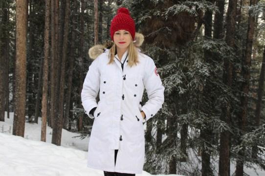 Winter in Banff, Alberta | Harper's Hats Love