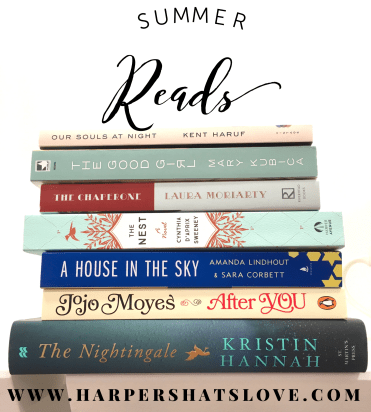 Great Summer Books | Harper's Hats Love Blog