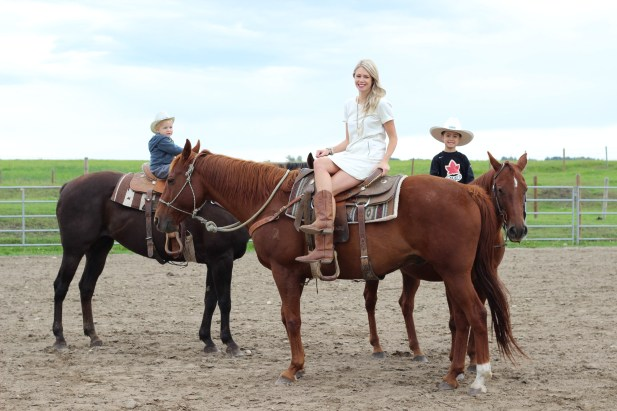 horseback riding with kids