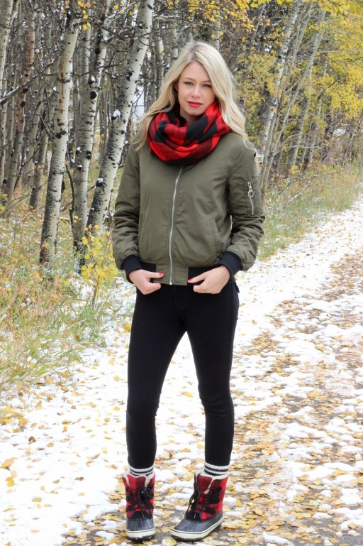 Olive Bomber Jacket for Fall