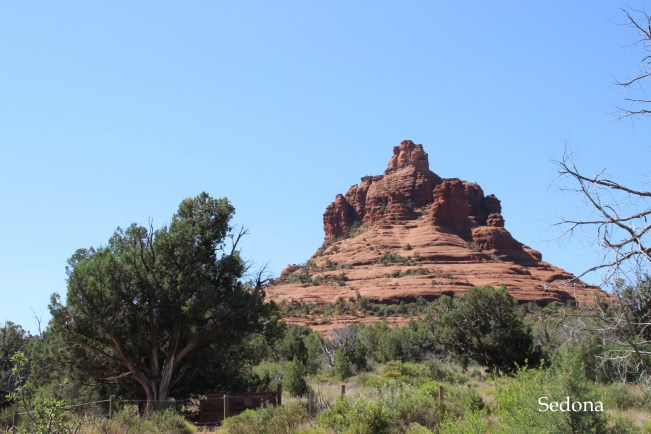 Sedona, Arizona red rock mountains