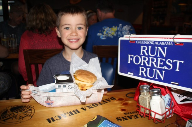 Bubba Gump's Maui, Hawaii - kids meal