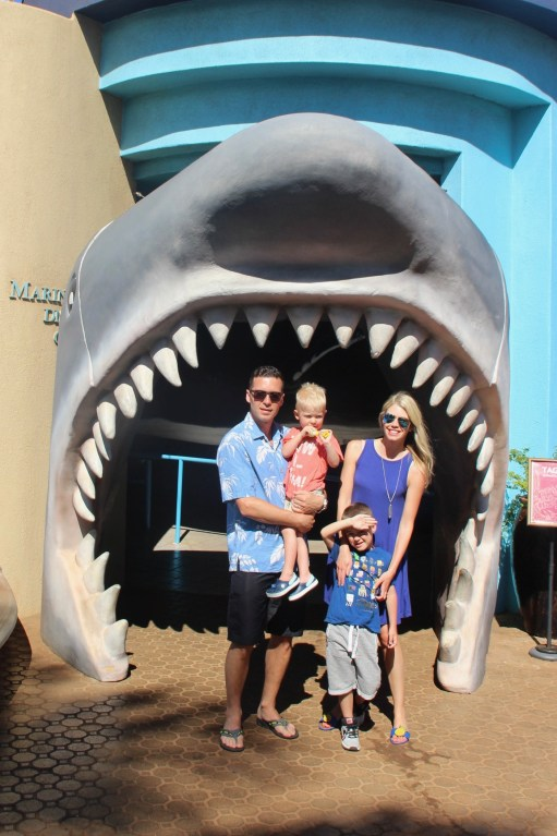 Must-do acitivity with kids in Maui, Hawaii - the Maui Ocean Centre
