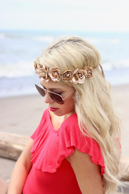 Headbands of Hope - flower crown - for every headband donated, one is given to a child with cancer
