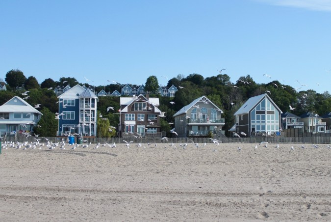 Port Stanley, Ontario - Main Beach Houses