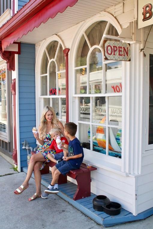 Broderick's Ice Cream - Family fun in Port Stanley, Ontario - travel ideas