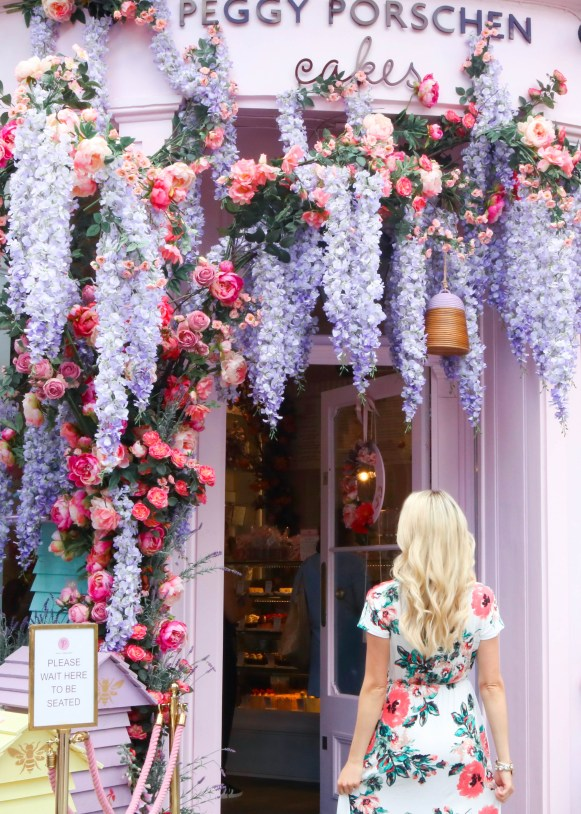 Instagrammable London, UK - Peggy Porschen Cakes