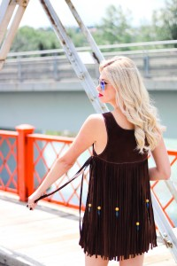 Fashion meets Travel - The Calgary Stampede Rodeo outfit ideas - cowgirl style