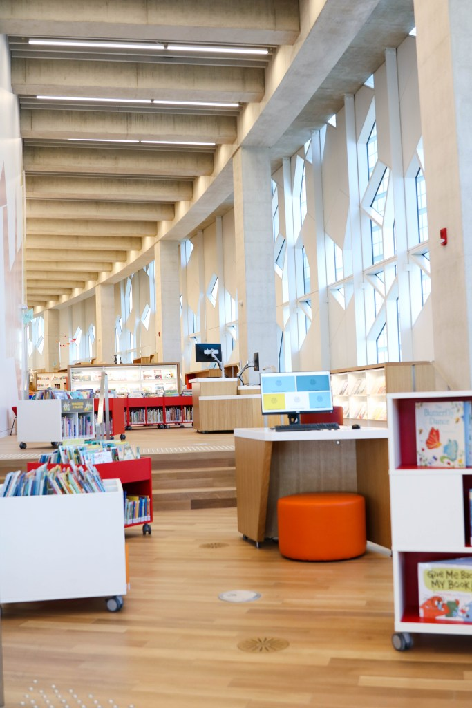 The New Central Library in Calgary
