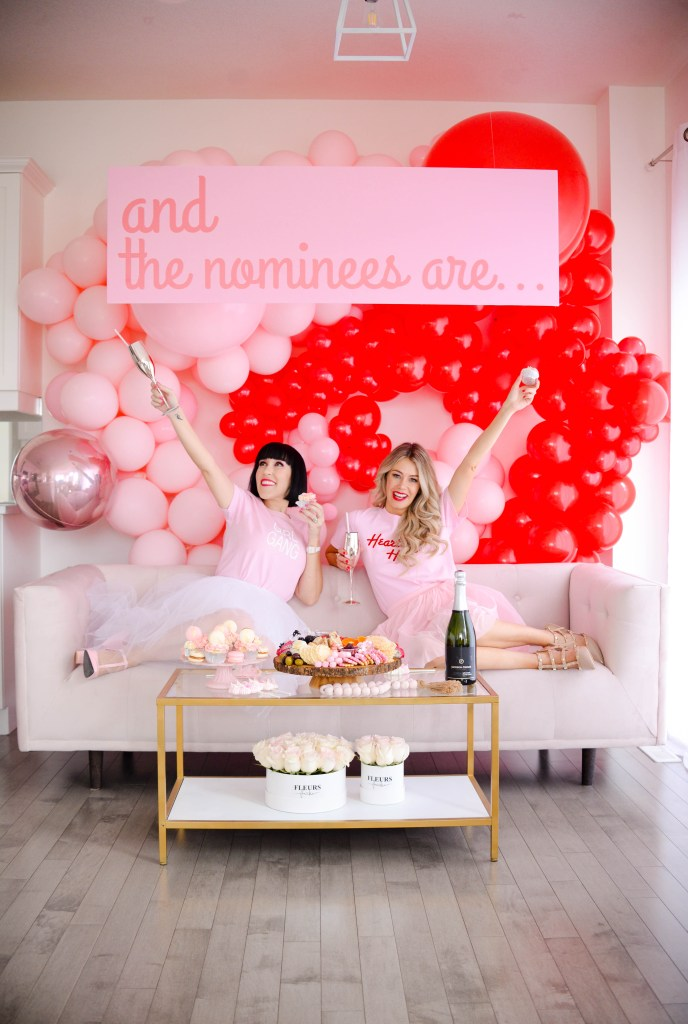 How to Throw a Juno Awards Viewing Party - decor, snacks, sweets, drinks, outfits, makeup and more!