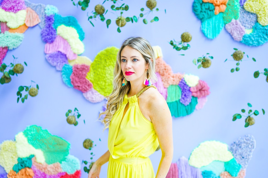 Chroma YYC - Instagram Walls at Southcentre Mall with local influencer Pursuing Pretty