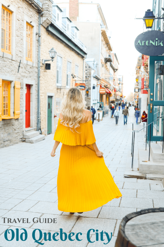 Top 10 Things to do in Quebec City. Paris in Canada! #travel #canada #quebec