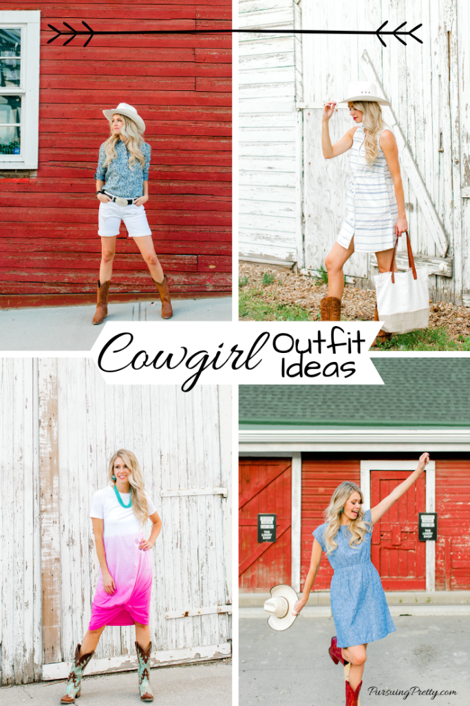 Cowgirl outfit ideas - Calgary Stampede fashion inspiration #fashion #style #cowgirl #ootd