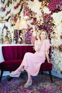 Hillberg & Berk jewellery - rose gold sparkle - summer collection, desserts and a flower wall