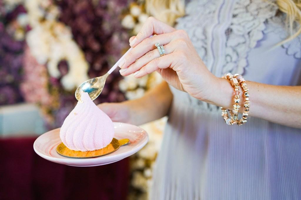 Finesse Desserts and Hillberg & Berk - rose gold bracelets